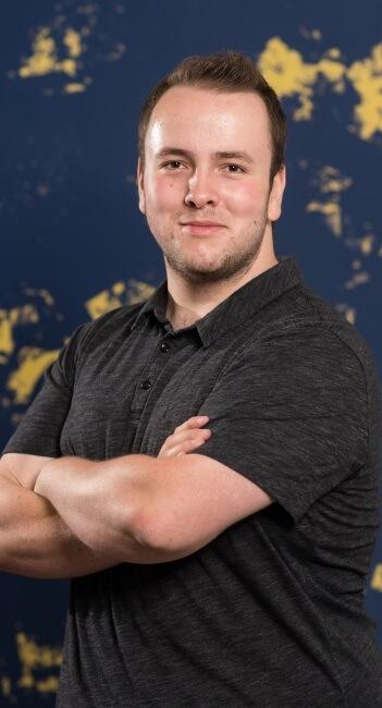Damjan Schertenleib, IT-Verantwortlicher, Systemadministrator